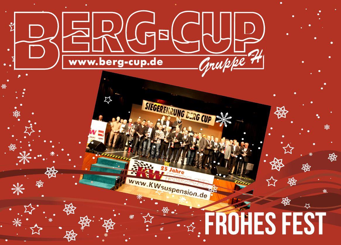 Berg-Cup e.V. - Frohe Weihnachten 2012 & Guten Rutsch ins neue Jahr 2013